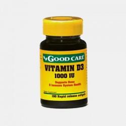 Vitamina D3 1000 IU 1000 Caps.