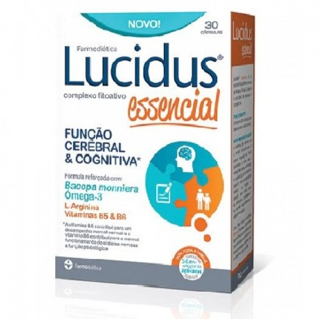 Lucidus essencial 30 cápsulas